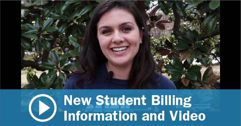 2018 UNC Student Orientation Billing Information